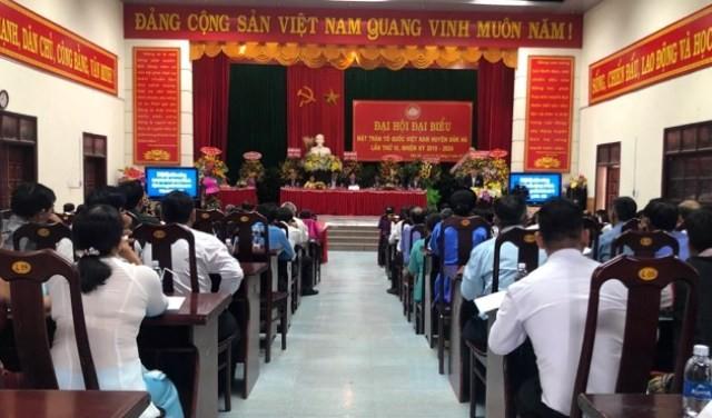 Đại hội MTTQ Việt Nam huyện Đắk Hà lần thứ VI, nhiệm kỳ 2019 - 2024