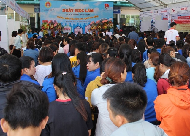 Đào tạo khởi nghiệp và Ngày việc làm được tỉnh quan tâm tổ chức hàng năm để góp phần giải quyết việc làm cho lực lượng lao động trong tỉnh