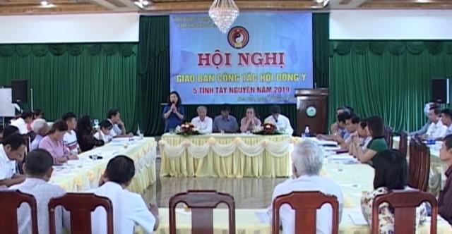 Quang cảnh Hội nghị giao ban công tác Đông y