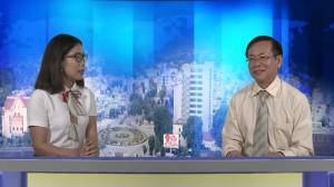Chủ tịch UBND tỉnh Kon Tum Nguyễn Văn Hòa trả lời phỏng vấn của PV