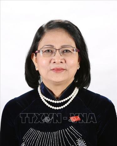 Bà Đặng Thị Ngọc Thịnh, Phó Chủ tịch Nước giữ quyền Chủ tịch Nước Cộng hòa Xã hội Chủ nghĩa Việt Nam.