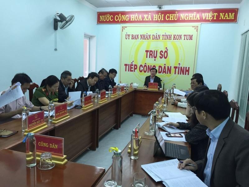 Chủ tịch Ủy ban nhân dân tỉnh tiếp công dân định kỳ tháng 11 năm 2019