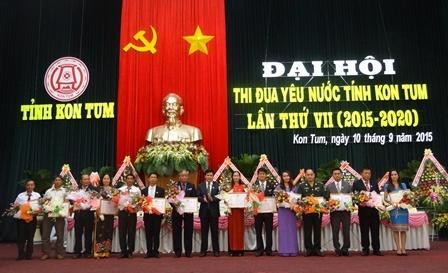 Đại hội thi đua yêu nước tỉnh Kon Tum lần thứ VII