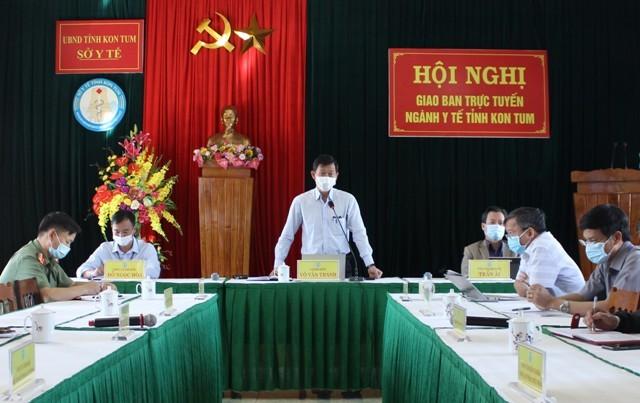 TS.BSCKII. Võ Văn Thanh – Giám đốc Sở Y tế phát biểu chỉ đạo Hội nghị