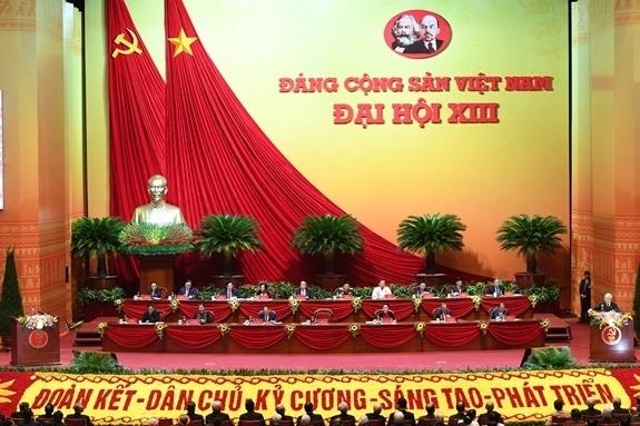 Đại hội đại biểu toàn quốc lần thứ XIII. Ảnh: Trọng Hải